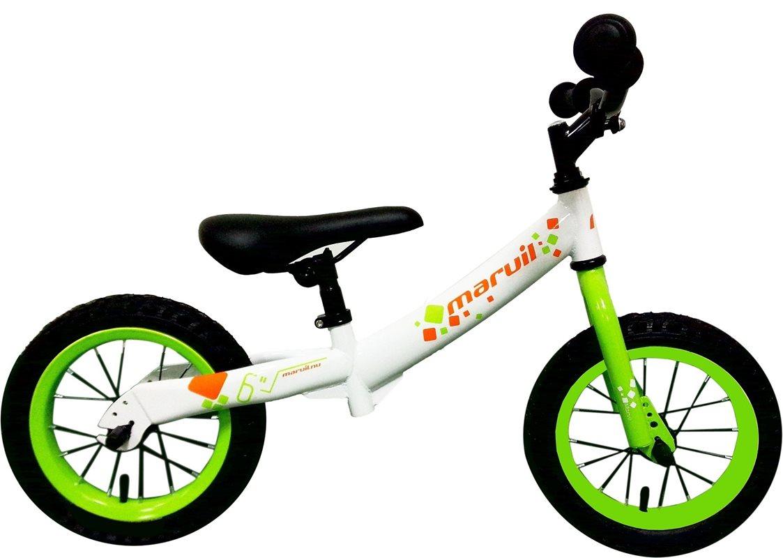 balanscykel-12-vitgron